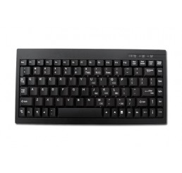ACK-595 Mini Keyboard - USB - Black