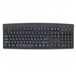 Russian (Cyrillic) Foreign Language USB Keyboard - Black